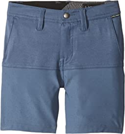 Frickin SNT Block Shorts (Toddler/Little Kids)