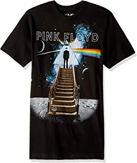 Liquid Blue Pink Floyd Stairway to The Moon T-Shirt
