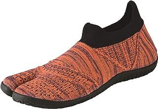 Marugo] hitoe - Unisex Tabi Style, Minimalism Barefoot Core Training Shoes, Seamless Upper with Rubber Outsole.