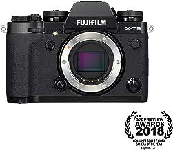 Fujifilm X-T3 Mirrorless Digital Camera (Body Only) - Black (Renewed)