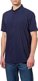 Pierre Cardin Men's Moisture Control Kurzarm Hemd Shirt
