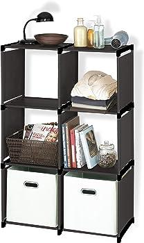 Farberware Durable 6 Shelves Cube Storage Closet Organizer