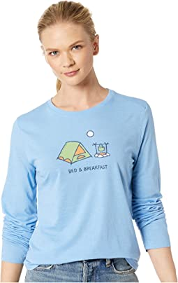 Bed & Breakfast Cool Long Sleeve T-Shirt