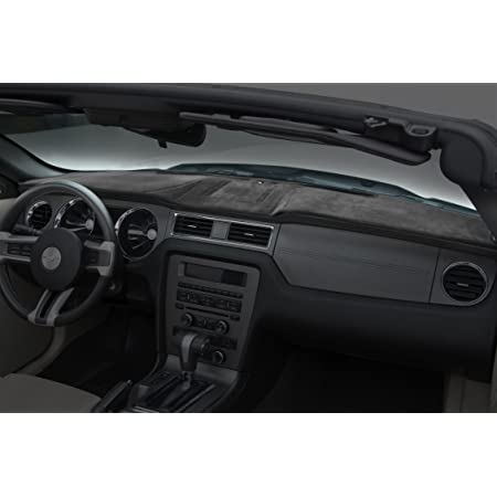 Poly Carpet Coverking Custom Fit Dashboard Cover for Select Dodge Journey Models Black