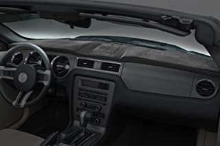 Coverking Custom Fit Dashboard Cover for Select Toyota Tundra Models - Velour (Charcoal)
