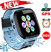 Kids Educational Toys, Kids Smartwatch, Watch for Phone Calls, Voice Message, Camera, SOS Connection, Flashlight, Maths Games, Alarms and Many other Functions, Daily Waterproof, Environmental Material