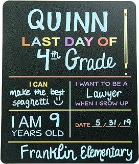 Best my first day of school chalkboard Reviews