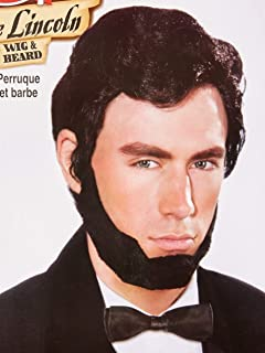 Forum Novelties Men's Abraham Lincoln Costume Wig and Beard