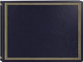 Álbum de fotos X-Pando com página magnética extra grande, azul marinho