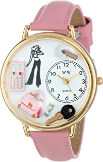 Watches Women's G1610008 Teen Girl Pink Leather Watch