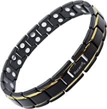 MagnetRX® Ultra Strength Magnetic Therapy Bracelet - Arthritis Pain Relief & Carpal Tunnel - Adjustable Length Magnetic Br...