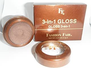Fashion Fair 3 in 1 Gloss Pot for Lips Eyes and Cheeks Bombshell 8827