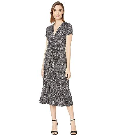 MICHAEL Michael Kors Snake Midi Wrap Dress Women