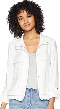Zoey Rayon Twill Lightweight Jacket