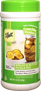 Ball Bread & Butter Pickle Mix – Flex Batch – New! (12.0oz) (by Jarden Home Brands)