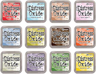Ranger Tim Holtz Bundle of 12 Distress Oxide Ink Pads - Summer 2018 Colors