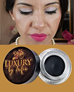 Luxury By Sofia Gel Eyeliner | Vegan, Organic & Natural Ingredients, Sweat Proof & Waterproof | Matte Finish For Stunning Looks |
