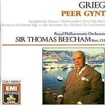 Sir Thomas Beecham conducts Grieg Peer Gynt Incidental Music EMI Studio DRM