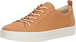 ECCO Women's Soft 8 Perforated Tie Sneaker