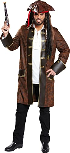 Rubie's 1 4633 50 - Piratenmantel Kostüm, Größe 50