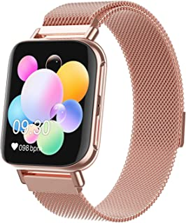 Smart Watch, M96 HD Hyperboloid Screen Bluetooth Call Smart Polsband Waterdichte Hartslag Bloeddruk Monitor Fitness Tracke...