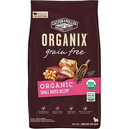 Castor & Pollux Organix Organic Small Breed Dry Dog Food