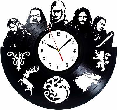 Reloj de vinilo inspirado en Game of Thrones Colección ...