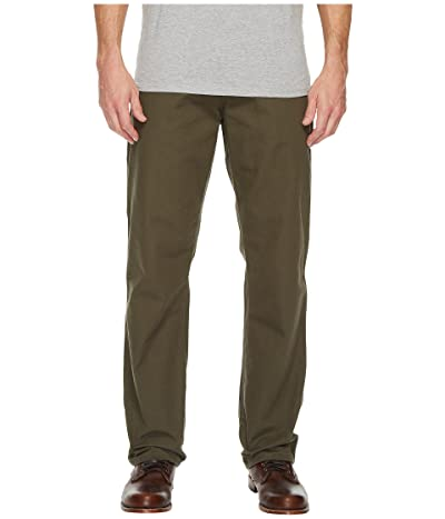 Dickies Relaxed Fit Carpenter Duck Jean (Rinsed Moss Green) Men