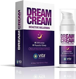 Melatonin 3mg Melatonin Cream Sleep Aid Cream Restful Sleep Dream Cream Unscented Melatonin 3 Mg. Get Sleepy Quickly No Sleeping Pills - Sleepy Body Lotion Natural Sleep Aid Topical Melatonin Cream.