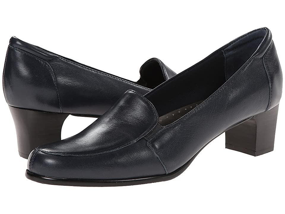 Trotters Gloria (Navy Leather) Women