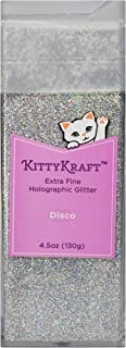 KittyKraft 4.5oz (130g) Extra Fine Holographic Glitter Disco