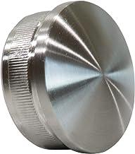 Roestvrij stalen eindkappen buissluiting plug gebogen 42,4 x 2 mm van v2a aisi304