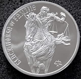 Best black horse of famine 1 oz silver round Reviews