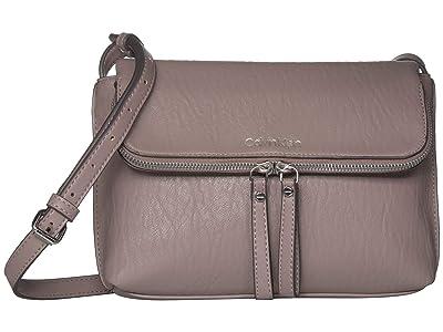 Calvin Klein Elaine Bubble Lamb Novelty Crossbody (Fig) Cross Body Handbags