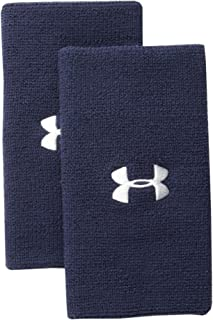 Under Armour Womens 6-inch Performance Wristband 2-Pack