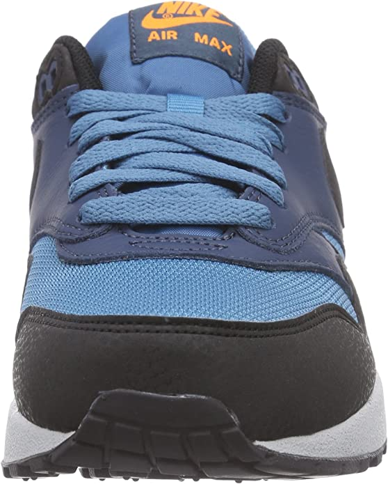 Amazon.com | Nike Men's Air Max 1 Essential Stratus Blue/Grey ...
