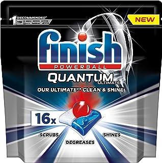 Finish Quantum Ultimate Dishwasher Tablets, Original, 16 Tabs