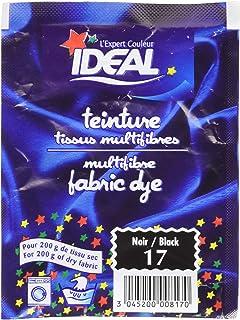 IDEAL Teinture Tissus multifibres (pour 200 g de tissu sec) - Noir 17