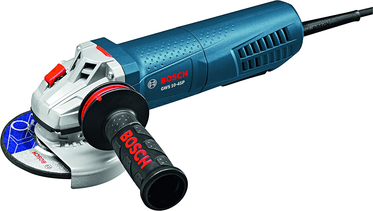 Bosch Gws10-45P Angle Grinder With Paddle Switch, 4-1/2&Quot;