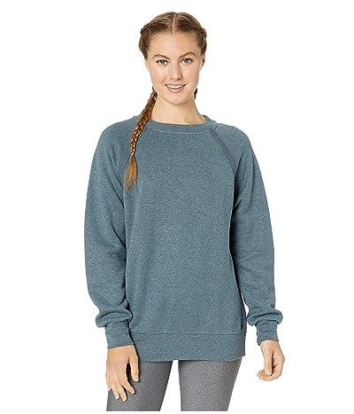 Prana Cozy Up Sweatshirt (Grey Blue Heather) Women