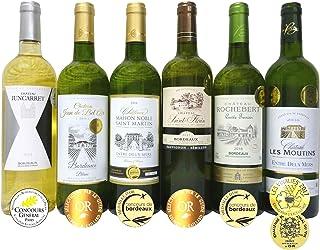 ALL金賞受賞(ダブル金賞1本入)白ワイン6本セット フランス ボルドー産 ソムリエ厳選 750ml×6本
