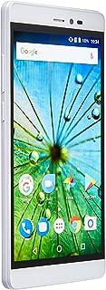 """Smartphone MS60F Plus 4G Tela 5,5"""", Sensor de Impressão Digital, 2GB RAM, Dual Chip, Android 7, Multilaser, Branco/Dourado, NB716"""