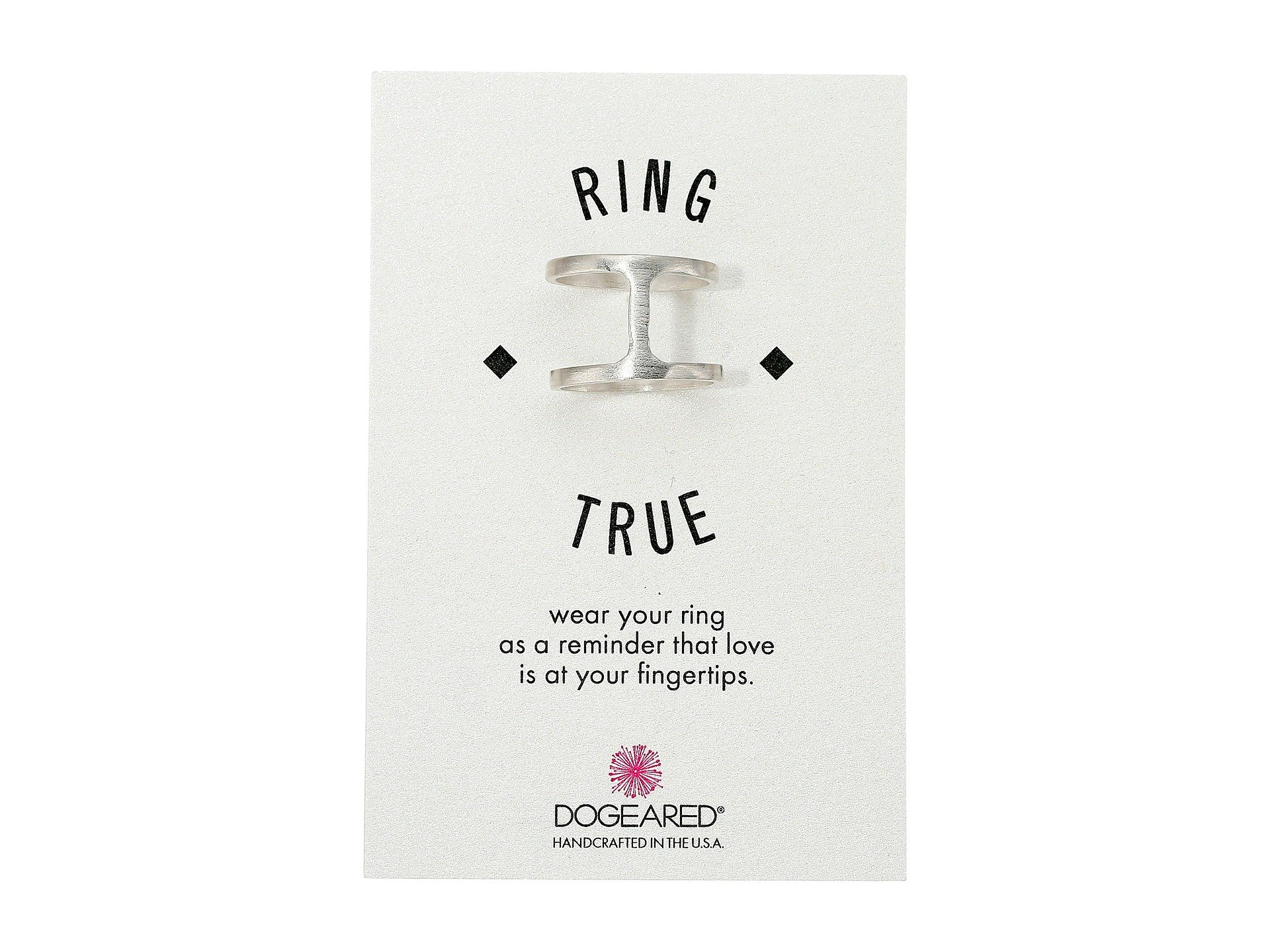 Dogeared Double Band Ring