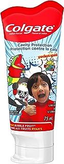 Colgate Kids Anticavity Fluoride Toothpaste, Ryan's World, 75 Milliliters