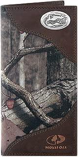 Camouflage NCAA Florida Gators Zep-Pro Fencerow Nylon Trifold Concho Wallet