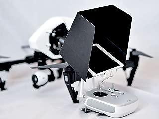 SummitLink 7 Inch iPad Mini Sunshade Sun Hood Black for DJI Phantom 4 Phantom 3 Professional Advanced DJI Inspire 1 3DR Solo