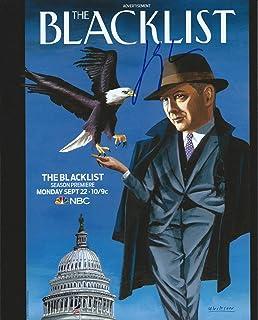 ジェームズ・スペイダー–The Blacklist署名Autographed 8x 10フォト