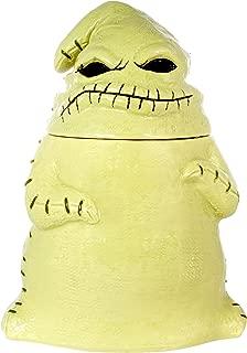 Seven20 Tim Burton's The Nightmare Before Christmas Ceramic Oogie Boogie Figural Cookie Jar