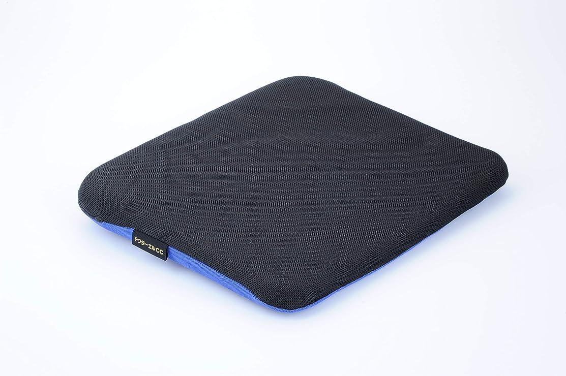 ドールたっぷりベッドを作るドクターエル ドクターエルCC 黒×青 車専用腰痛対策クッション