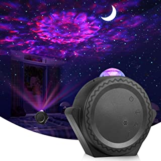ALOVECO Star Projector, Night Light Projector LED Nebula Cloud Light with Moon Star, Touch&Voice Control Auto-Off Starry S...